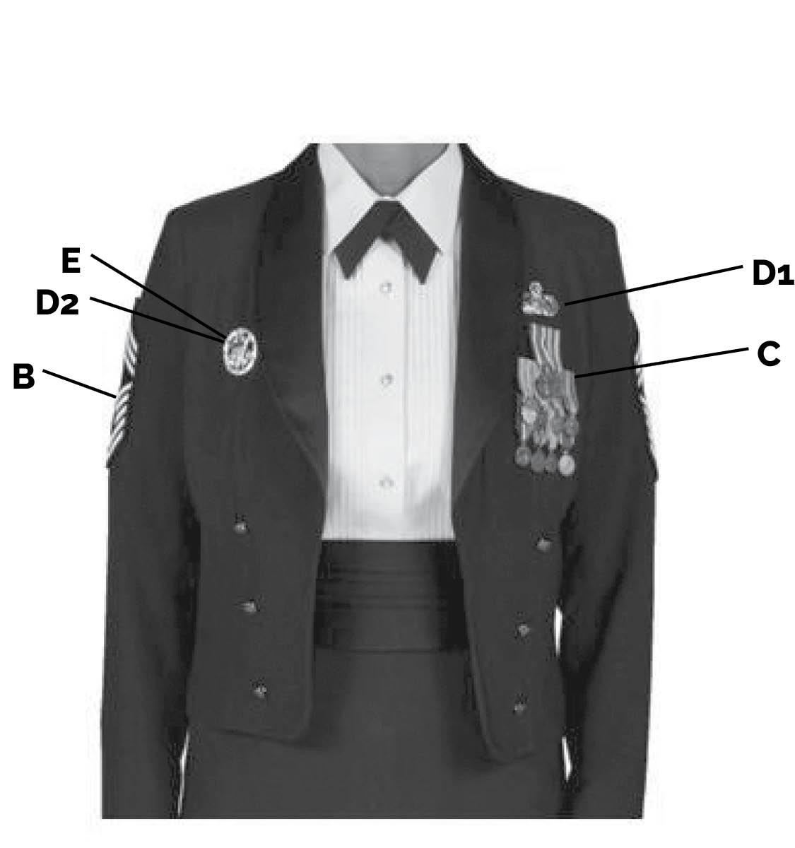 mess dress uniform enlisted female